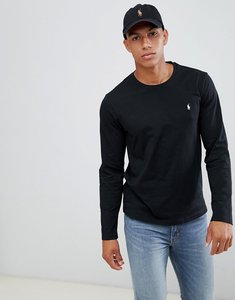 Read more about Polo ralph lauren long sleeve top in crew neck - black
