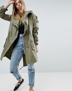 Read more about Asos waterfall parka - khaki