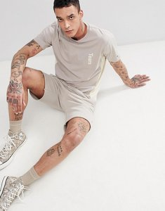 Read more about Champion x wood wood sweat tears t-shirt in stone - stone