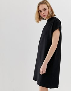 Read more about Weekday high neck dress - black