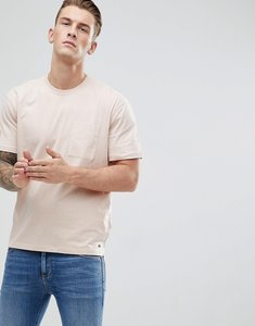 Read more about Esprit dropped shoulder t-shirt with woven pocket - 690