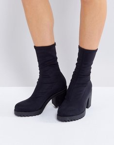 Read more about Vagabond grace black sock boots - black