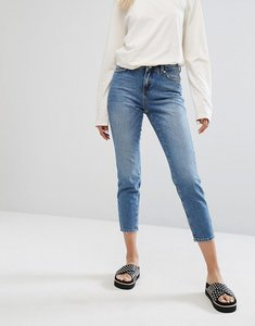 Read more about Noisy may seam detail jean with faded pocket - blue