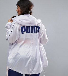 Read more about Puma exclusive to asos plus windbreaker jacket - lilac