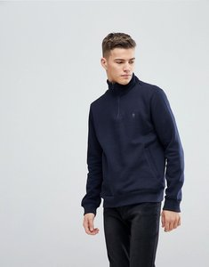 Read more about French connection half zip sweat - navy