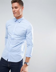Read more about Selected homme slim oxford shirt - light blue