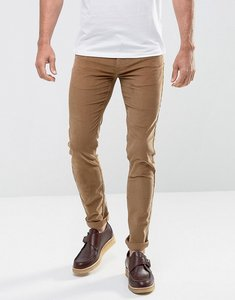 Read more about Farah drake slim fit stretch cord trousers in tobacco - tobacco 210