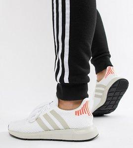 big sale 17235 2cc86 Read more about Adidas originals swift run trainers in white - white