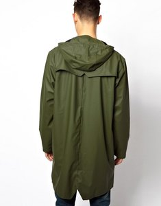Read more about Rains long jacket - green