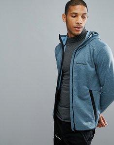 Read more about Peak performance fleece half zip fleck sweat in blue - 2z8 blue steel
