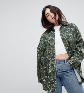 Read more about Asos curve swing camo jacket - multi
