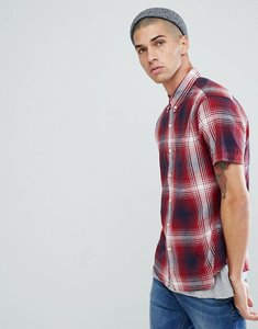 Read more about Levi s short sleeve classic one pocket shirt - red