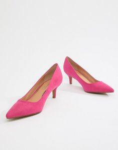 Read more about Head over heels annabelle pointed kitten heels - pink