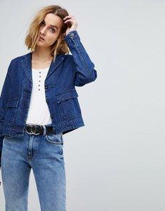 Read more about Vero moda denim worker jacket - blue