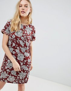 Read more about Maison scotch floral print dress with elasticated waist - 17 combo a
