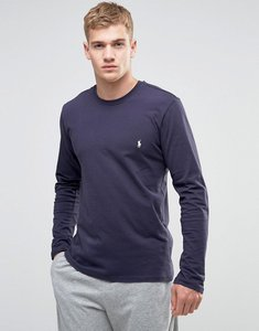 Read more about Polo ralph lauren long sleeve top in crew neck - navy