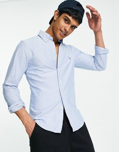Read more about Polo ralph lauren oxford shirt in slim fit blue - blue