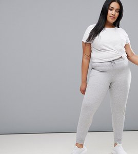 Read more about Only play curvy plus slim sweat pants - grey