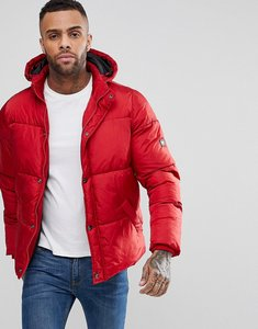 Read more about Puffa padded hooded coat - red