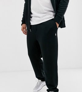 Read more about Polo ralph lauren big tall icon logo cuffed joggers in polo black