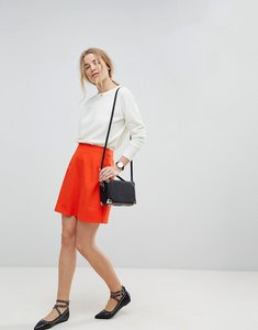 Read more about Asos tailored a-line mini skirt - orange