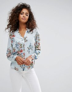 Read more about Esprit floral stripe shirt - multi