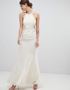 Read more about Minuet maxi dress with embellished detail - cream