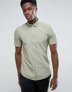 Read more about Esprit short sleeve cotton shirt - 355 green