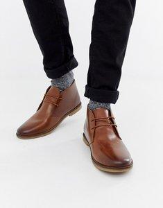 Read more about Kg by kurt geiger porter desert boots - tan