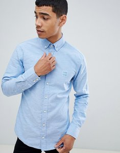 Read more about Boss mabsoot slim fit buttondown oxford shirt in light blue - blue