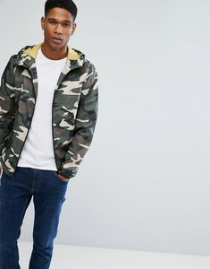 Read more about Jack jones originals lightweight jacket in camo - dusky green