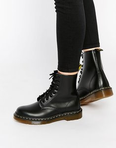 Read more about Dr martens modern classics smooth 1460 8-eye boots - black