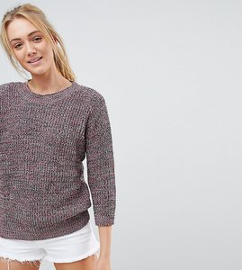 Read more about Glamorous tall jumper in multi yarn - multi
