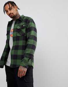 Read more about Dickies sacremento checked shirt in green - green