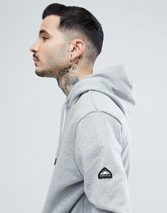 Read more about Penfield westridge logo hoodie in grey marl - grey marl