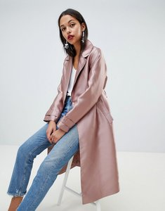 Read more about Asos satin mac - mink