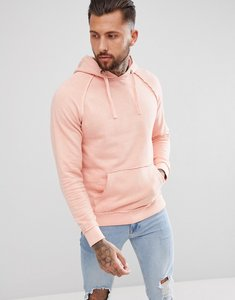 Read more about Blend oversized washed pink hoodie - 73837 rose red