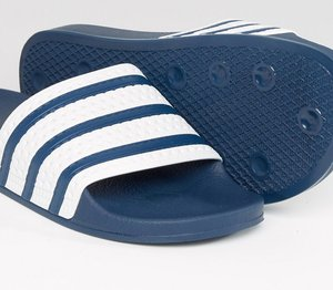 Read more about Adidas originals adilette sliders g16220 - blue