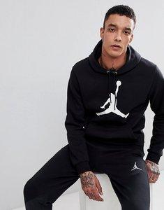 Read more about Nike jordan flight fleece pullover hoodie in black ah4507-010 - black