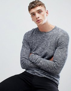 Read more about Esprit knitted jumper in 100 cotton - navy 400