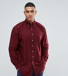Read more about Polo ralph lauren big tall oxford shirt in burgundy - fall burgundy