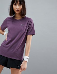Read more about Nike running breathe tailwind tee in purple - pro purple reflecti