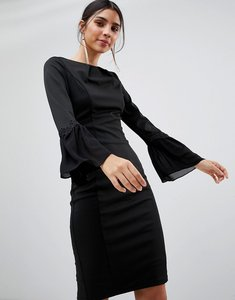 Read more about Paper dolls long sleeve bodycon dress - black