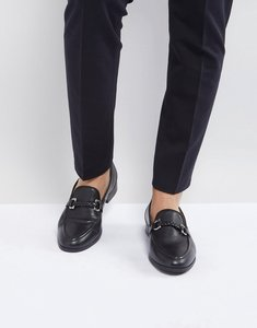 Read more about House of hounds bar loafers in black - black