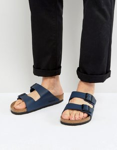 Read more about Birkenstock arizona sandals in blue - navy