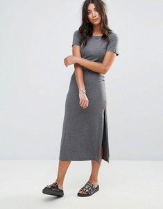 Read more about Glamorous t-shirt dress - charcoal marl