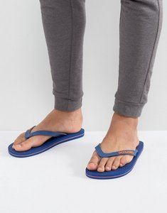 Read more about Jack jones logo flip flops - blue