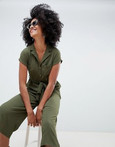 Read more about New look utility shirt jumpsuit - khaki