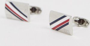 Read more about Tommy hilfiger logo cufflinks