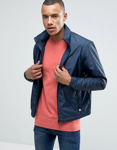 Read more about Esprit harrington jacket with concealed hood - navy